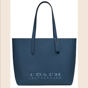 Coach Crossgrain Leather Highline Tote